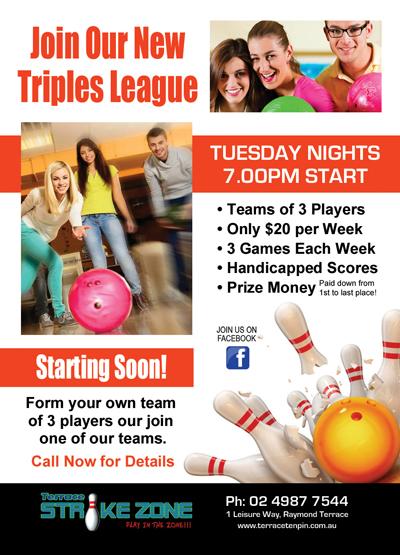 Terrace-Tenpin-Triples-League